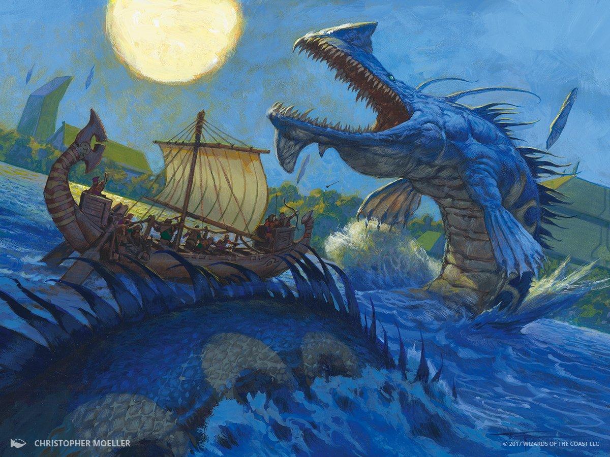 River Serpent Art Magic