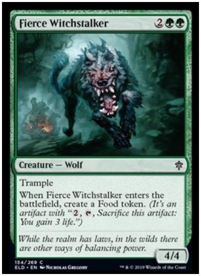 Fierce Witchstalker ELD