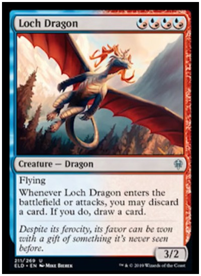 The Magic Mirror x1 Magic the Gathering 1x Throne of Eldraine mtg card