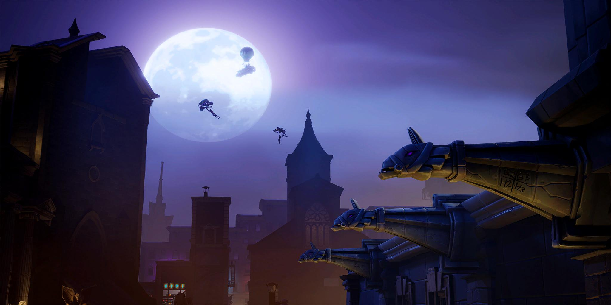 fortnite x batman gotham city challenges