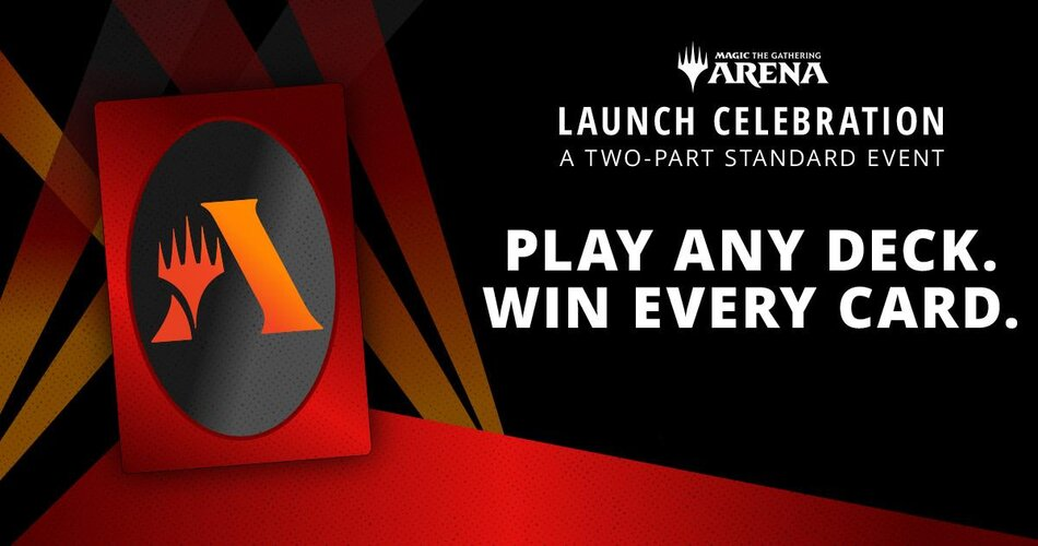 MTG Arena Launch events