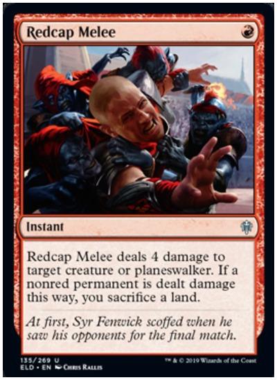 Redcap Melee ELD