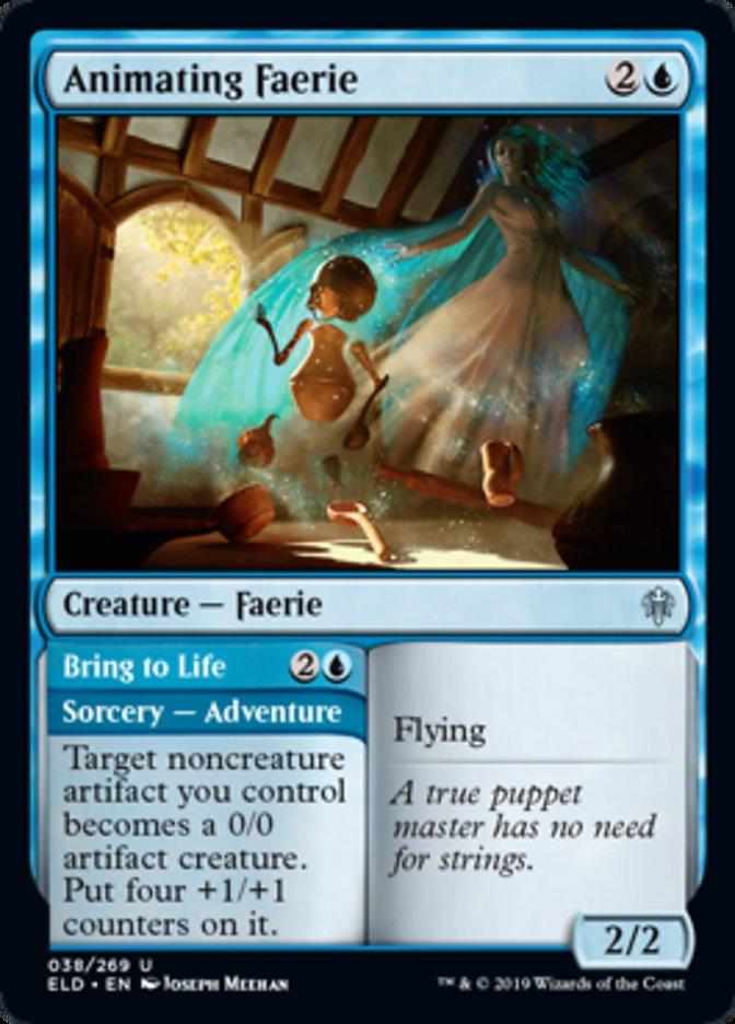 Throne of Eldraine MTG Faerie Vandal Magic Card