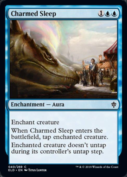 Charmed Sleep Magic Throne of Eldraine