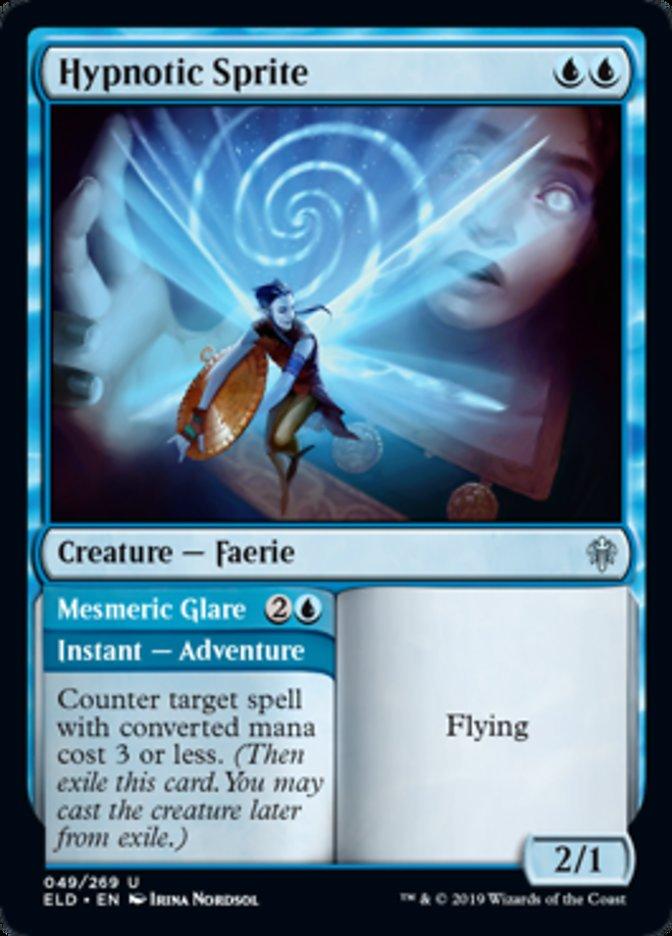Hypnotic Sprite Magic Throne of Eldraine