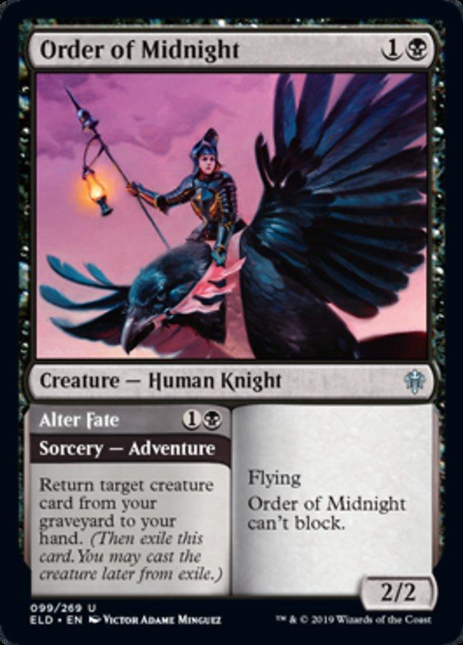 Order of Midnight Magic Throne of Eldraine