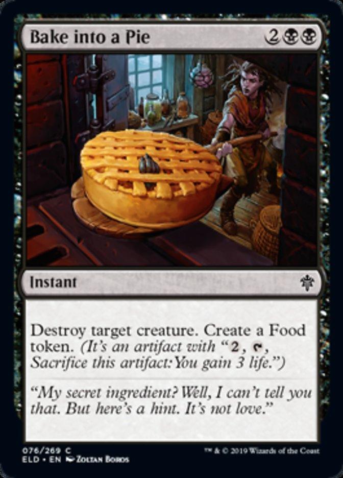 Bake into a Pie Magic Throne of Eldraine