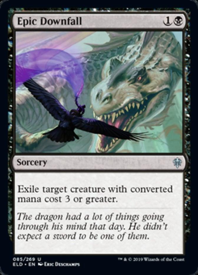 Epic Downfall Magic Throne of Eldraine