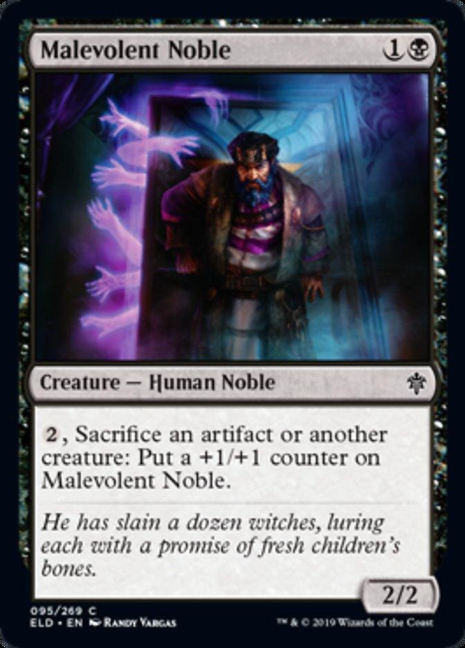 Malevolent Noble Magic Throne of Eldraine