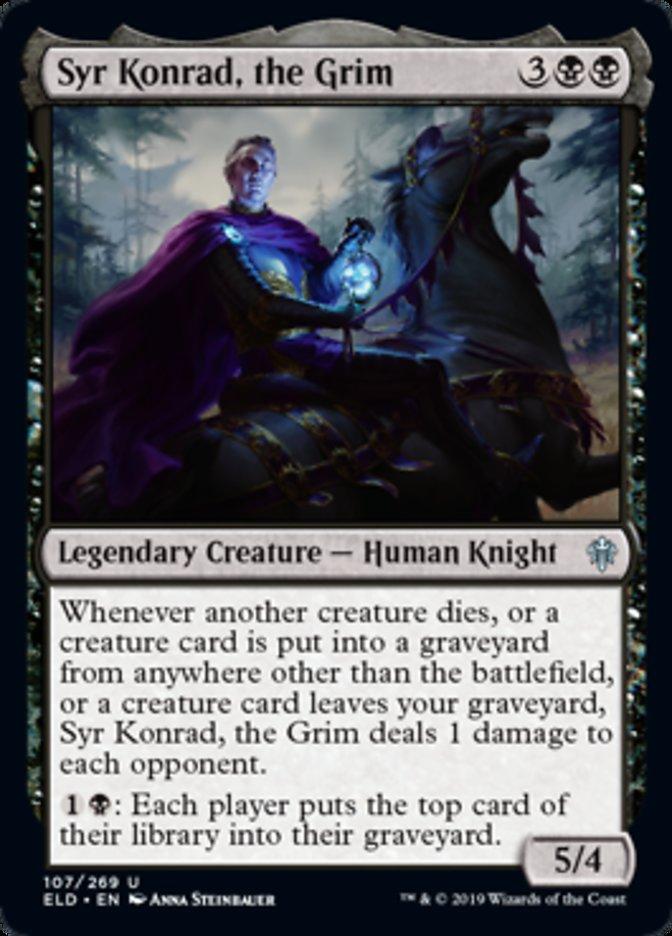 Syr Konrad the Grim Magic Throne of Eldraine