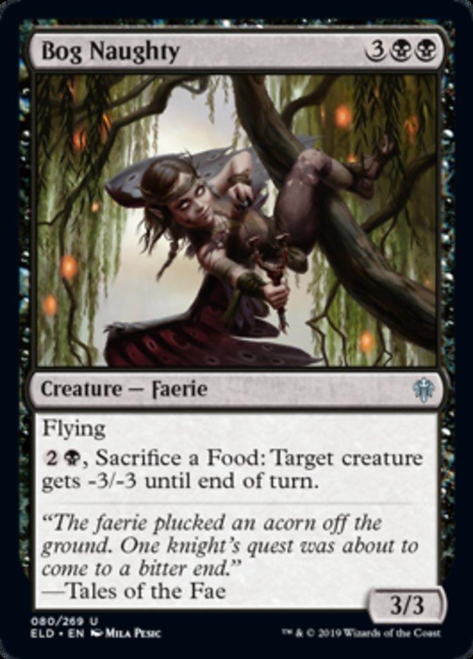 Bog Naughty Magic Throne of Eldraine