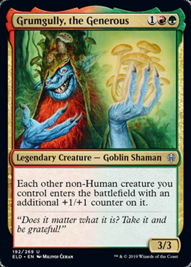 Grumgully the Generous Magic Throne of Eldraine