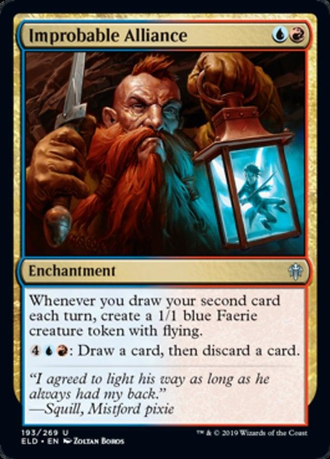 Improbable Alliance Magic Throne of Eldraine