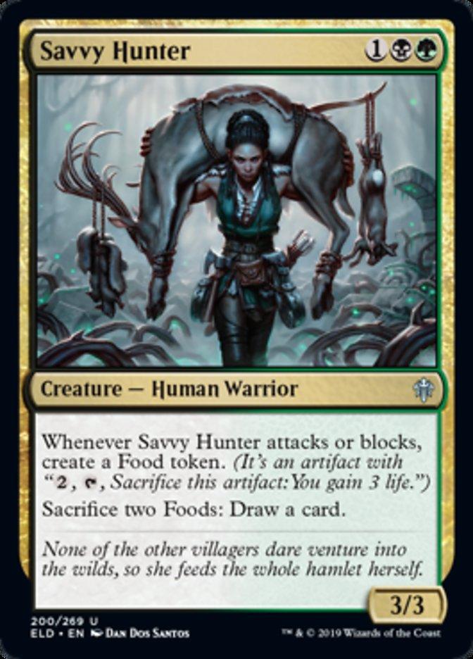 Savvy Hunter Magic Throne of Eldraine