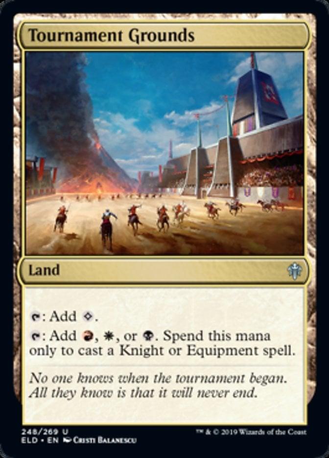 Tournament Grounds Magic Throne of Eldraine