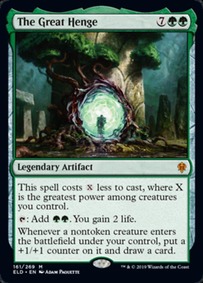 The Great Henge Magic Throne of Eldraine