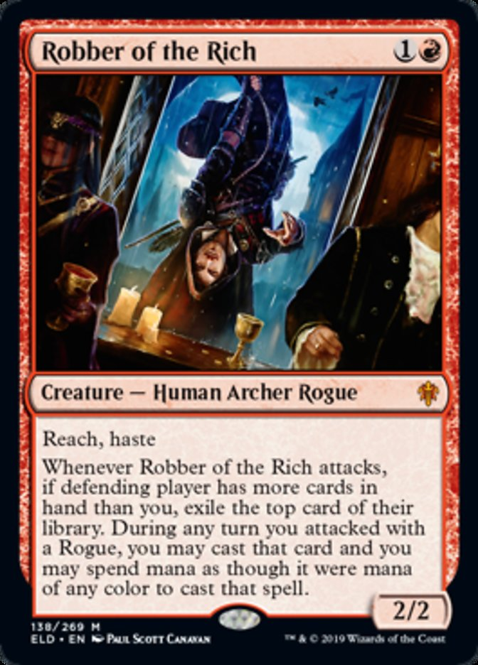 Robber of the Rich Magic Throne of Eldraine