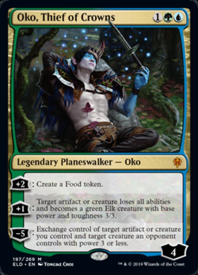 Oko Thief of Crowns Magic Throne of Eldraine