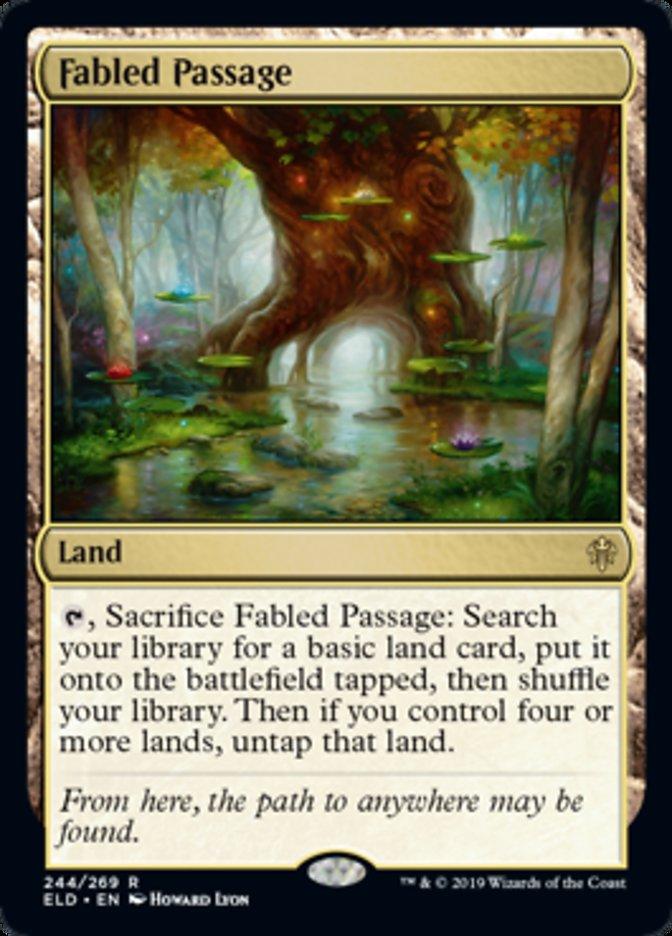 Fabled Passage Magic Throne of Eldraine