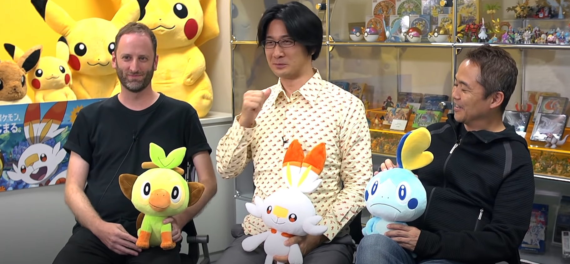 Pokemon Sword And Shield Devs Reveal More Details About Grookey Scorbunny And Sobble Dot Esports Indeed, grookey, scorbunny and sobble were the very first pokémon from the new game we glimpsed when sobble is inarguably the wettest starter here and he's not overflowing with charisma, but his. pokemon sword and shield devs reveal