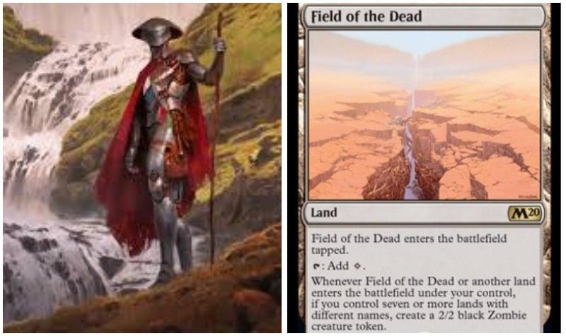 Golos Field of the Dead MTG ELD Standard