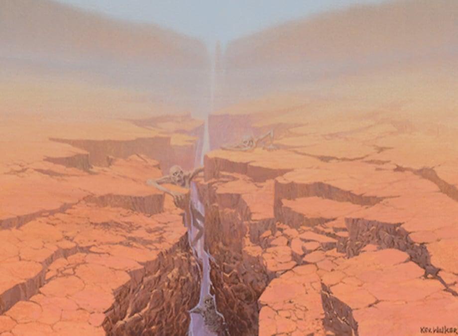 Field of the Dead Art Magic Core Set 2020
