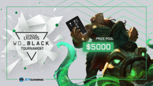 XY Gaming WD Black League of Legends Tournament
