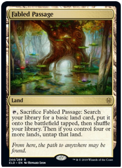 Fabled Passage MTG