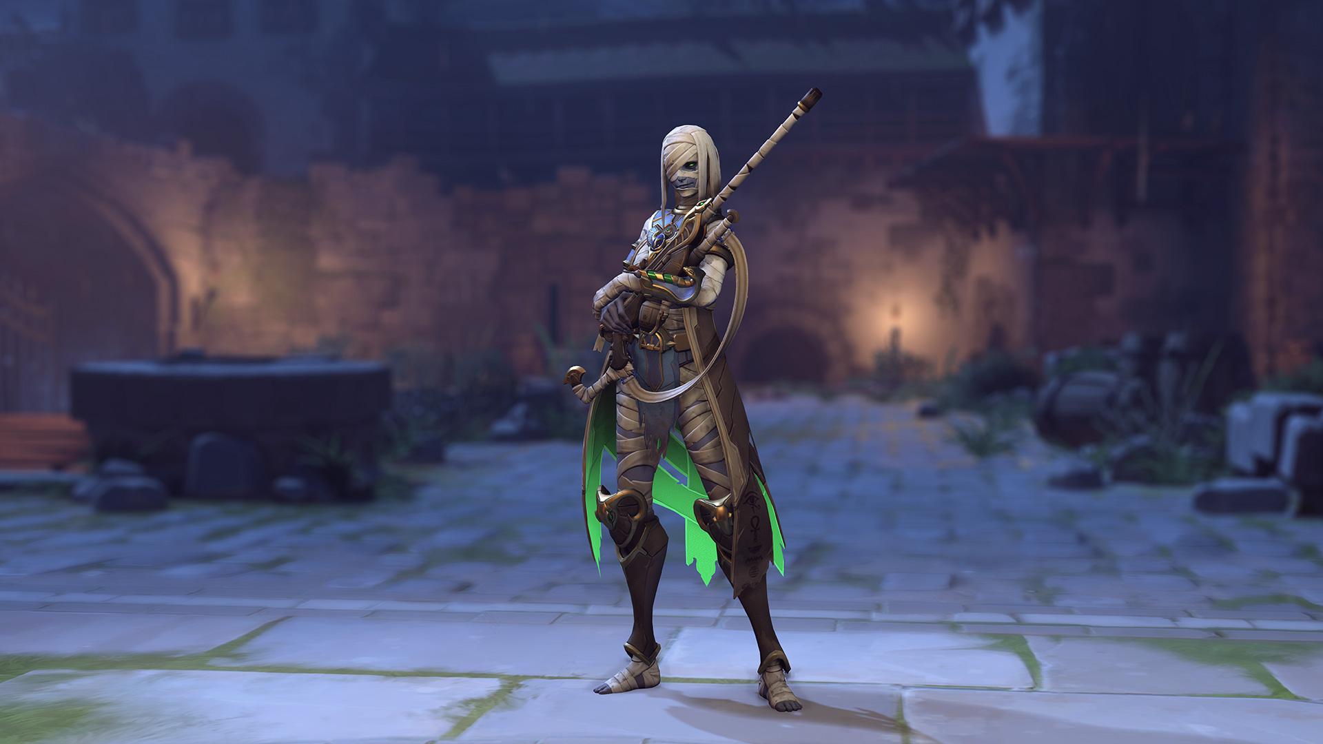 Ana Halloween Skin 2020 The best Overwatch skins released in 2019 | Dot Esports