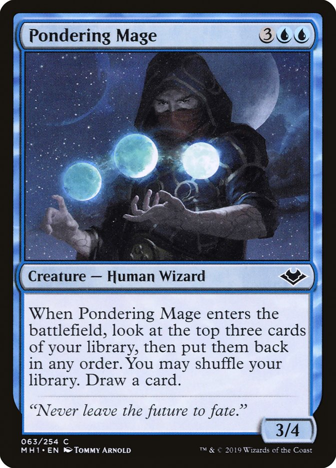 Pondering Mage Magic
