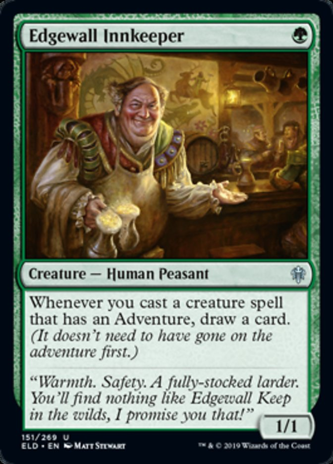 Edgewall Innkeeper Magic Throne of Eldraine