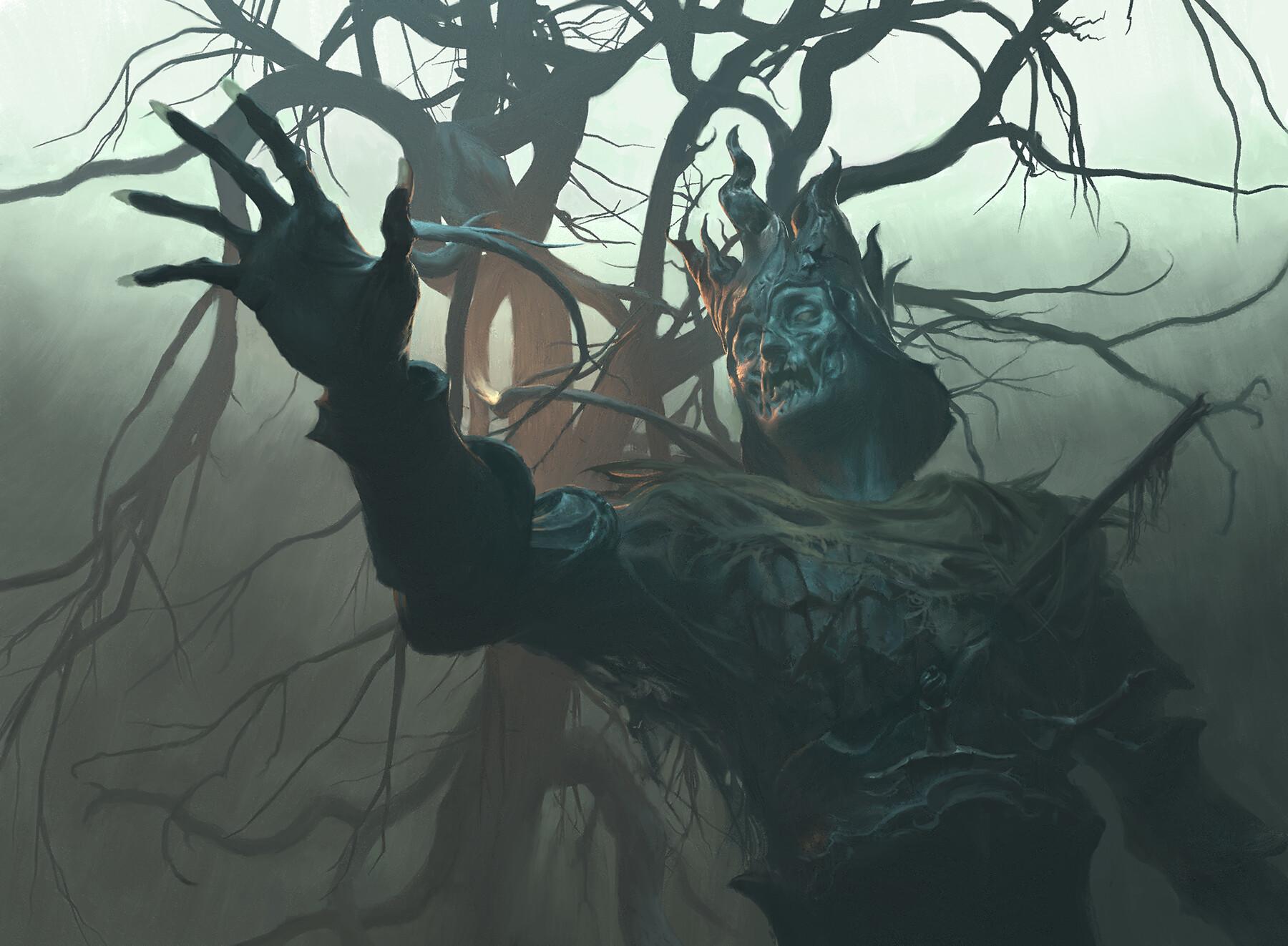 Foulmire Knight Art Magic Throne of Eldraine