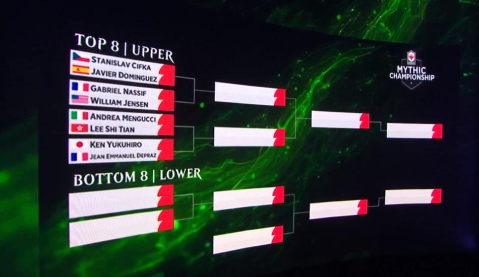 MCV Top Eight Double Elimination Bracket