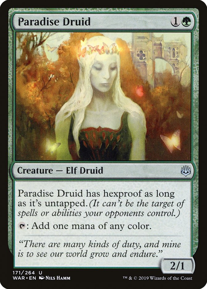 Paradise Druid Magic War of the Spark