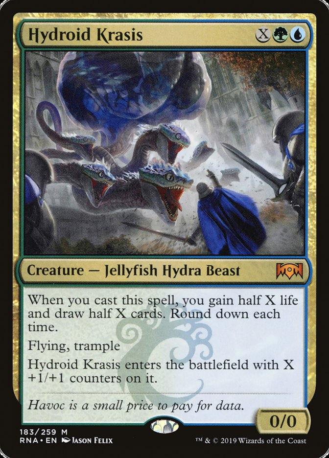 Hydroid Krasis Magic Ravnica Allegiance