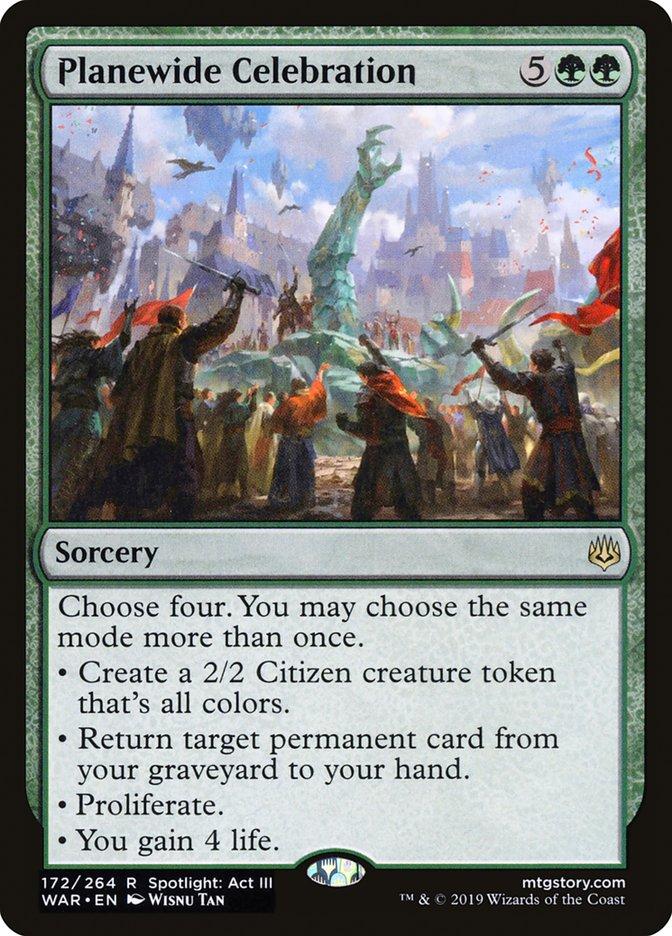 Planewide Celebration Magic War of the Spark