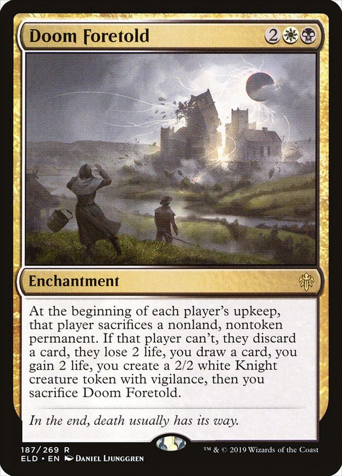 Doom Foretold Magic Throne of Eldraine