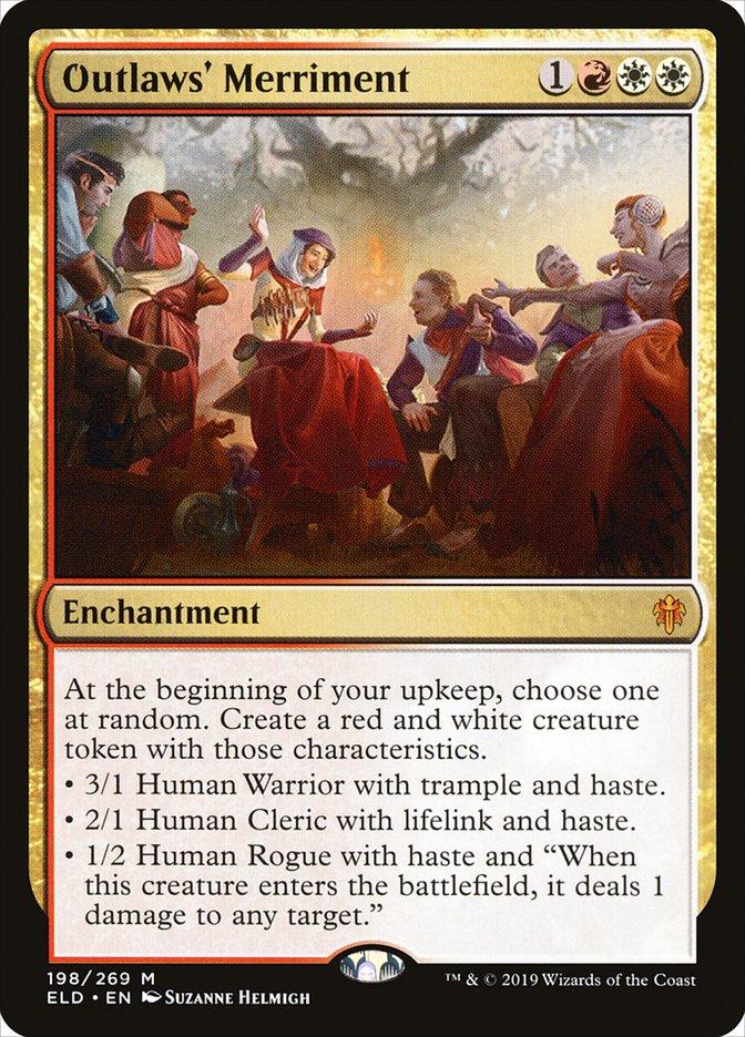 Outlaws Merriment Magic Throne of Eldraine