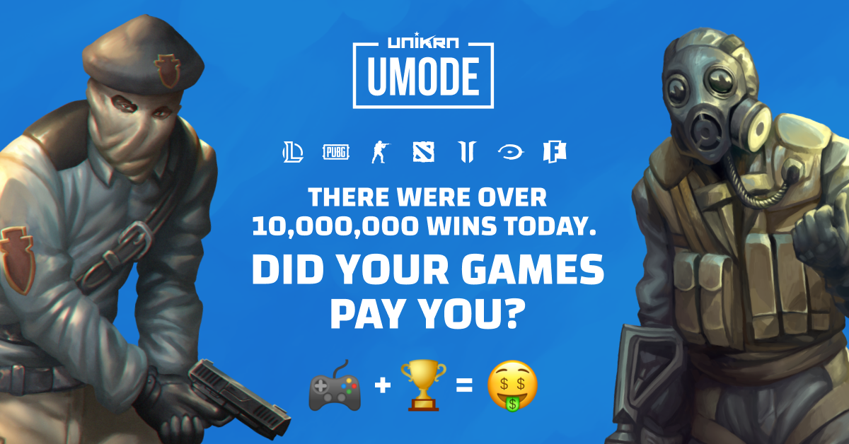 Win real money playing games with UMode