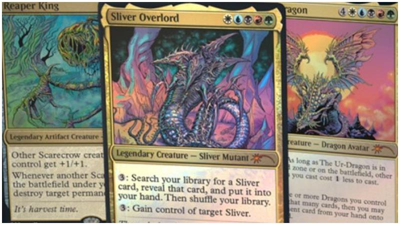 Magic The Gathering Secret Lair Drop Series Cards