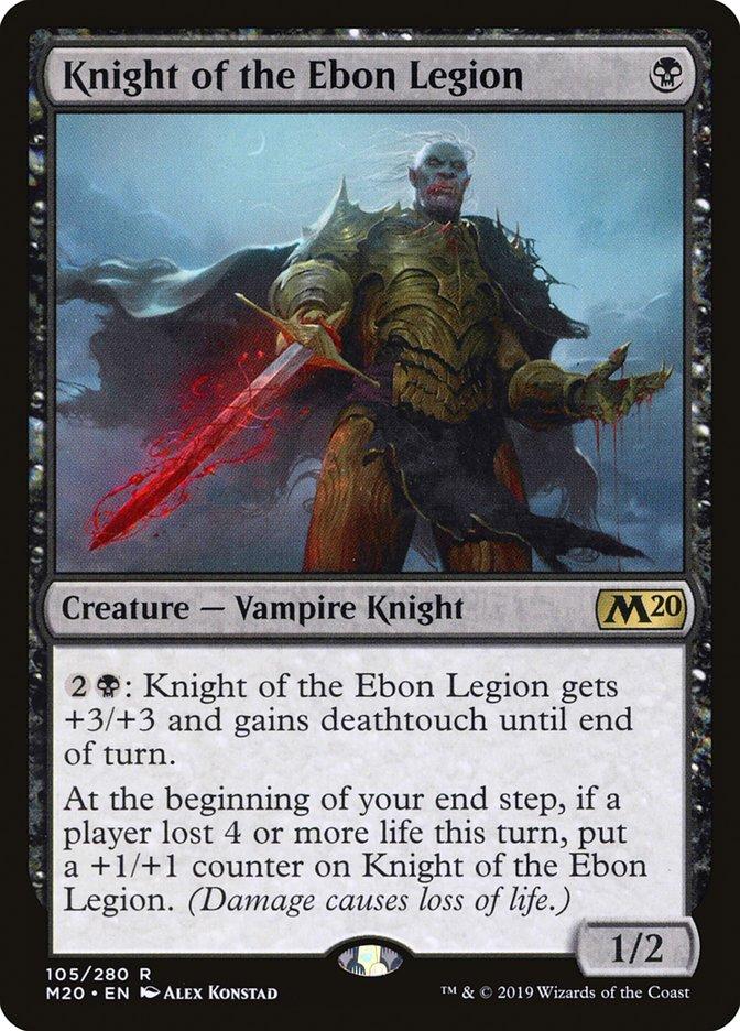 Knight of the Ebon Legion Magic Core Set 2020