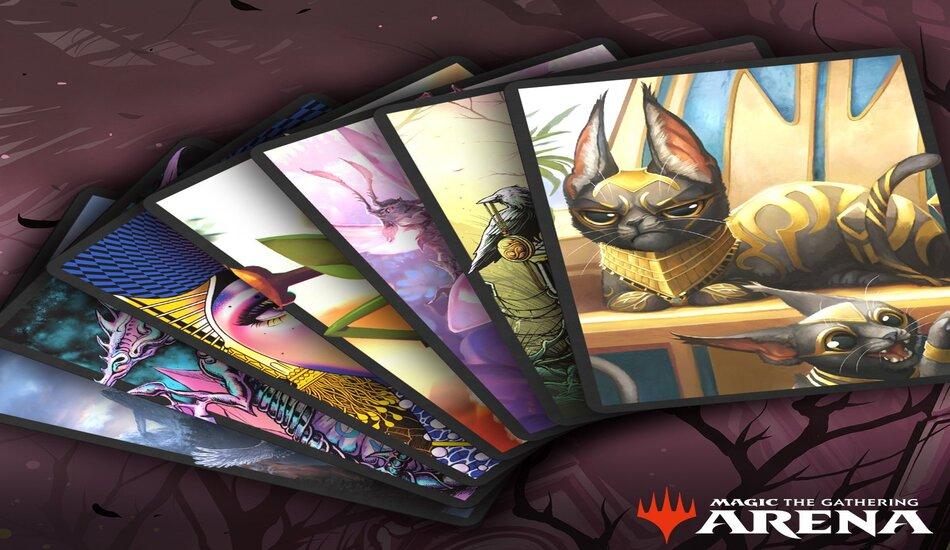 Secret Lair MTG Arena Card Sleeves Magic The Gathering