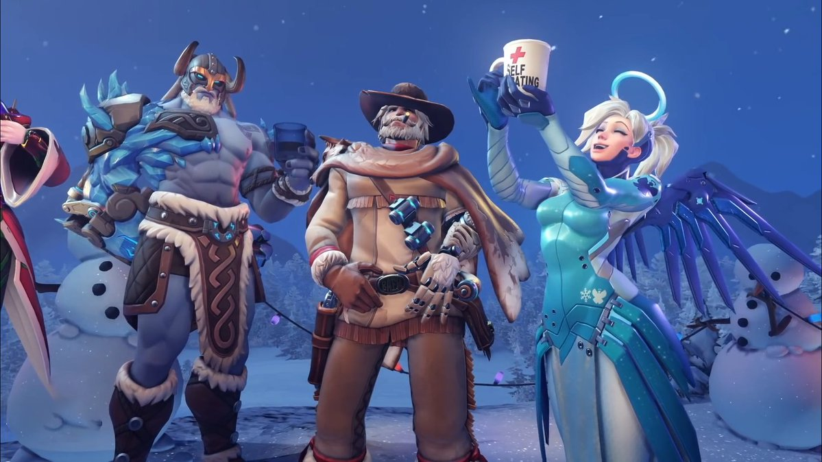 New Overwatch Skins Christmas 2020 Overwatch's leaked Winter Wonderland 2019 skins show ugly sweaters