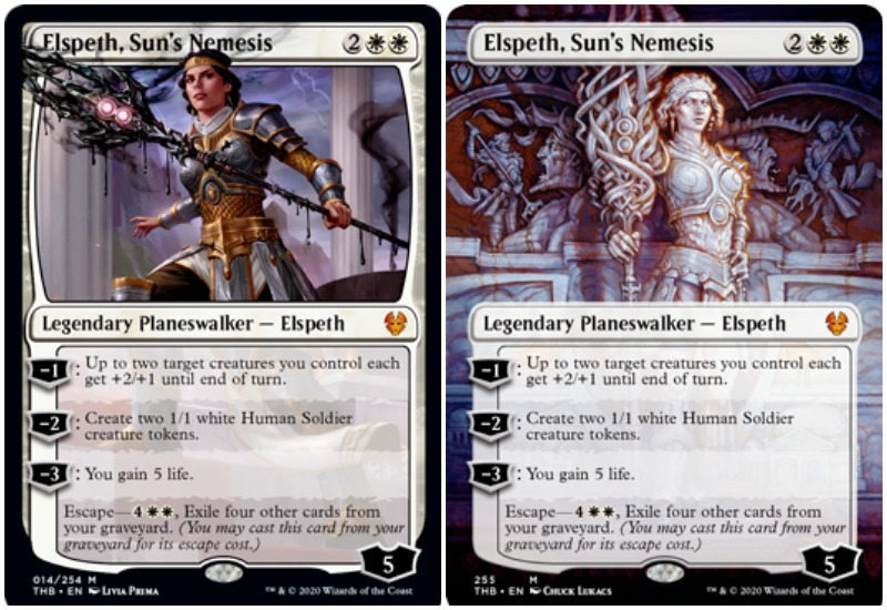 Elspeth, Sun's Nemesis MTG Theros Beyond Death