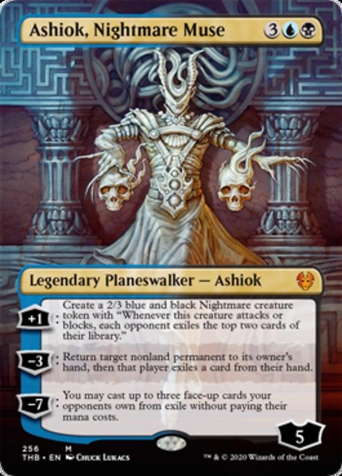 Ashiok, Nightmare Muse Magic Theros Beyond Death