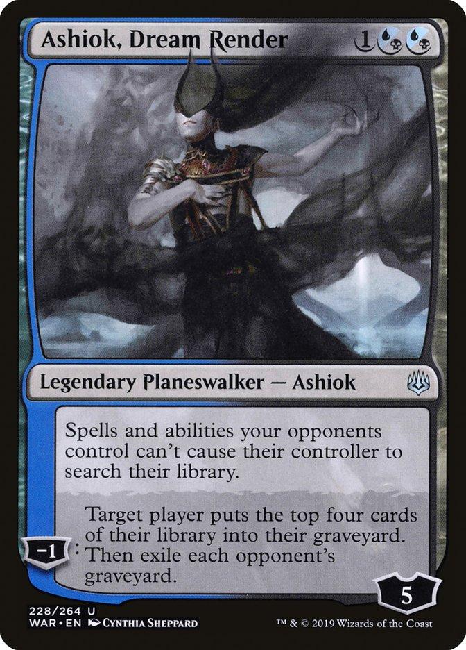 Ashiok Dream Render Magic War of the Spark