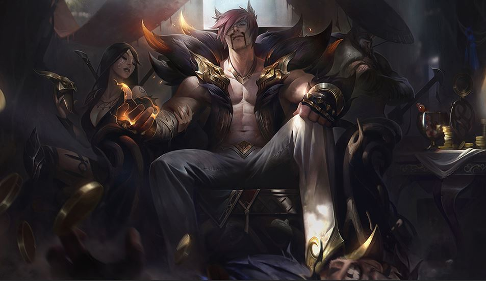 Draven is totally Sett's dad—Riot's word be damned