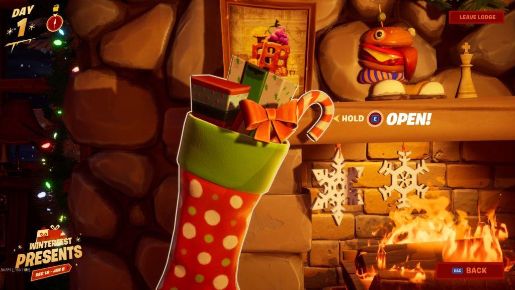 Fortnite Christmas Tree Chapter 2 Winterfest Has Arrived For Fortnite Chapter 2 Dot Esports