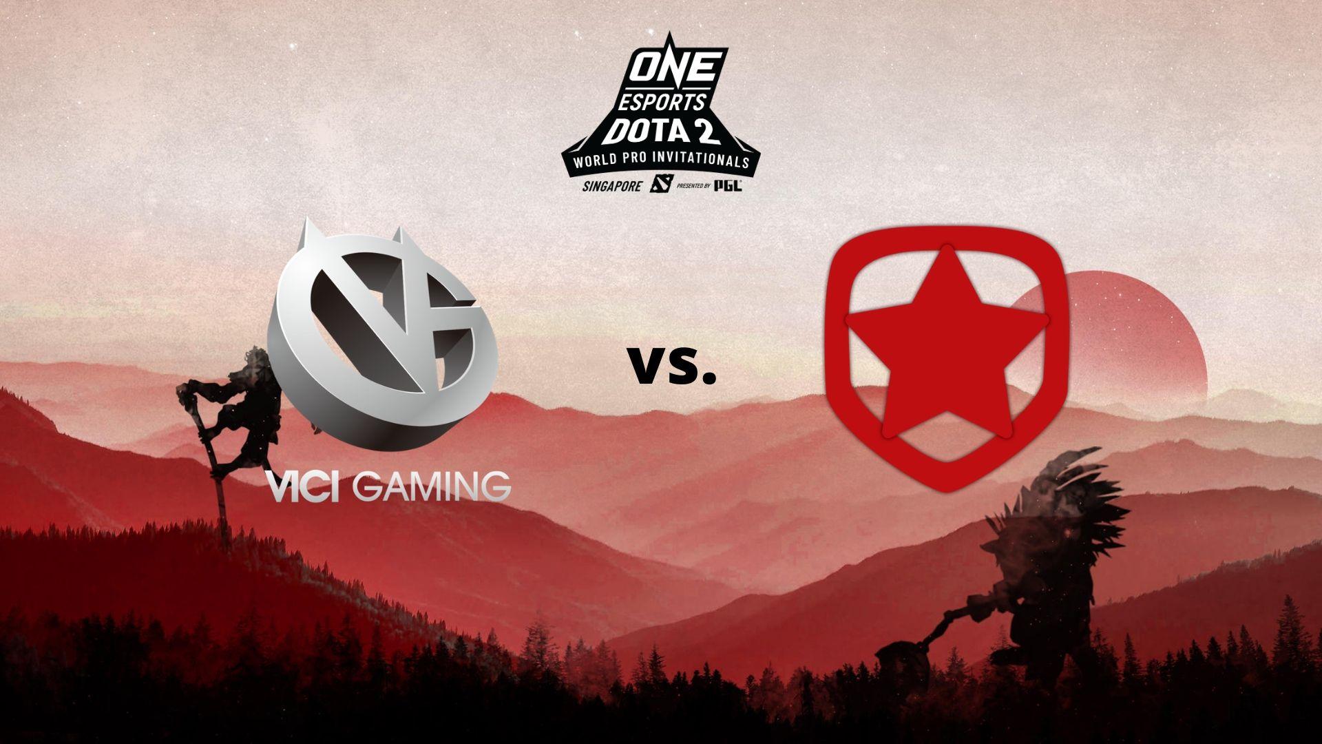 vg vs gambit one esports world pro invitational sg