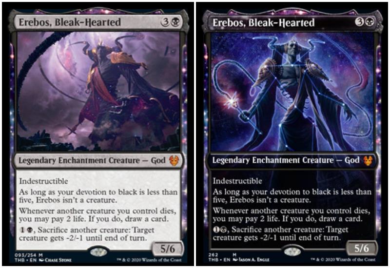 Erebos, Bleak-Hearted THB Magic The Gathering